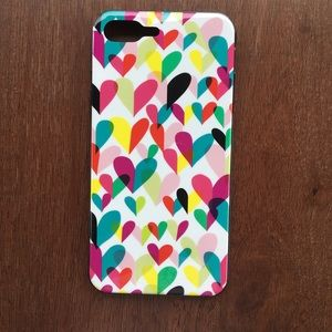 Kate Spade iPhone 7/ 8 Plus Heart Rainbow Case